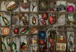 HUGE COLLECTION RADKO & OTHER CHRISTMAS ORNAMENTS