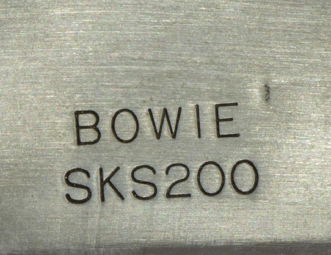 (3) BOWIE STYLE KNIVES, TEXAS CUSTOM. EDGE BRAND - 6