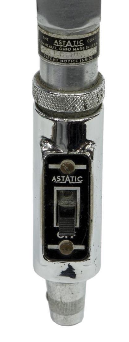 (2) VINTAGE ASTATIC DR-10 & JT-30 MICROPHONES - 4