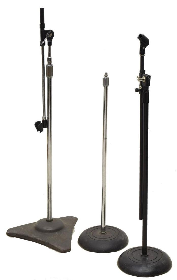 (6) GROUP OF MODERN MICROPHONE STANDS - 2