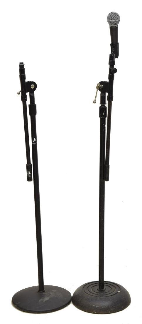 (6) GROUP OF MODERN MICROPHONE STANDS - 3