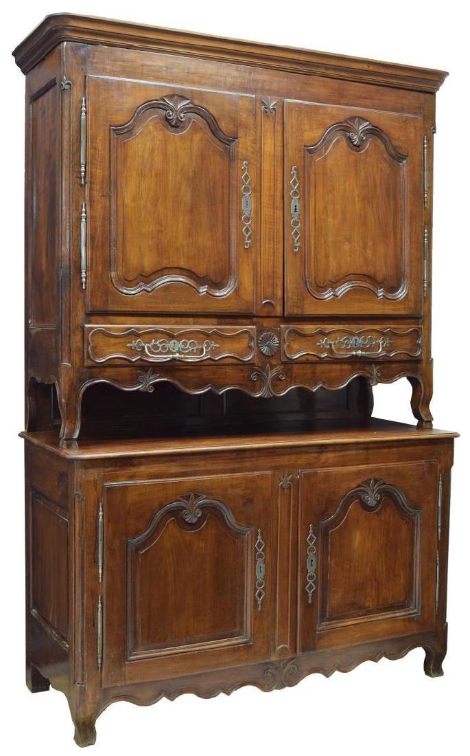 FRENCH LOUIS XVI STYLE FRUITWOOD CUPBOARD