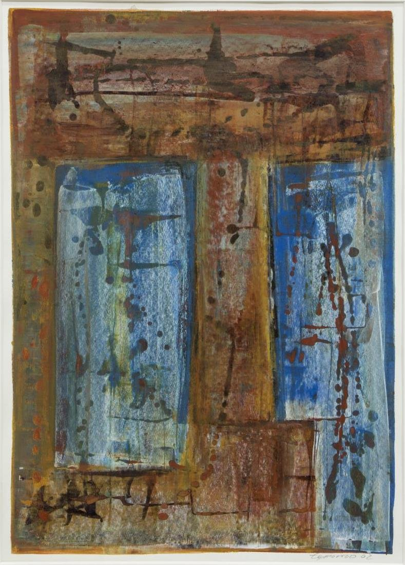 CHARLY TOMORROW (AUSITN, 20TH C) ABSTRACT PAINTING