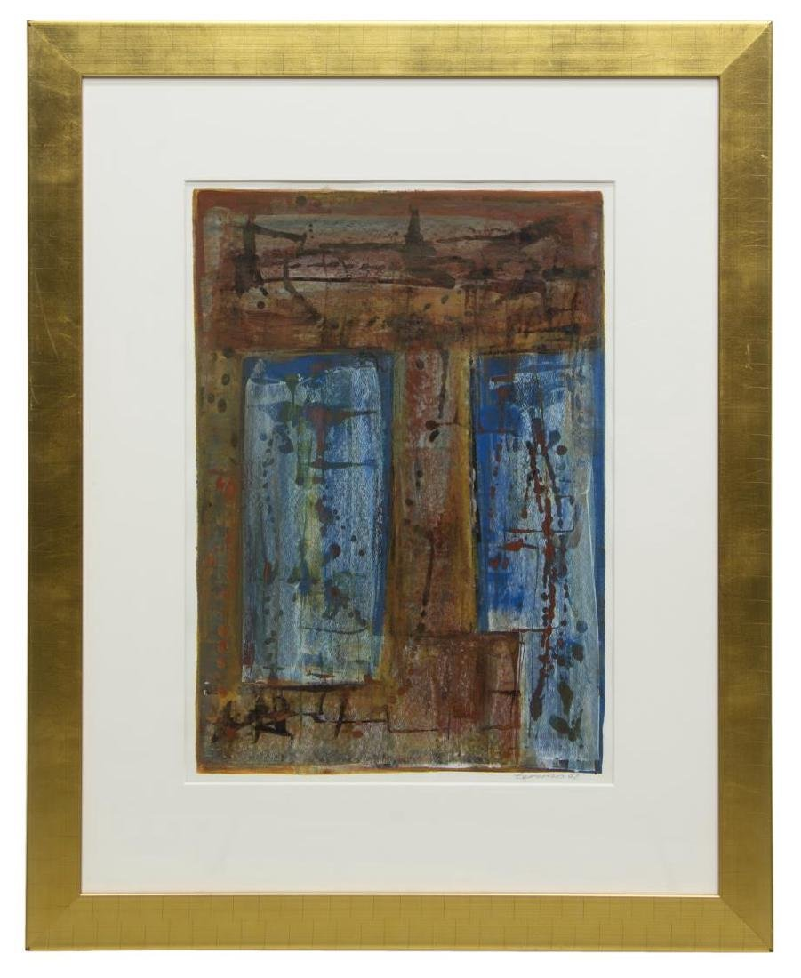 CHARLY TOMORROW (AUSITN, 20TH C) ABSTRACT PAINTING - 2