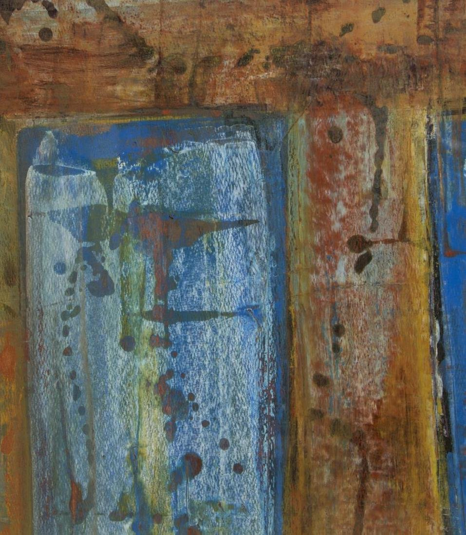 CHARLY TOMORROW (AUSITN, 20TH C) ABSTRACT PAINTING - 3