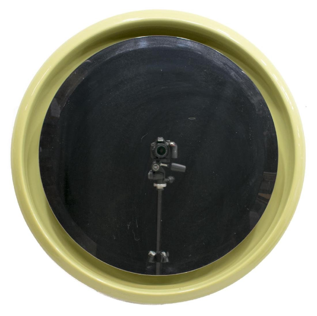 ITALIAN MODERN LIGHTED CIRCULAR BEVEL WALL MIRROR - 2