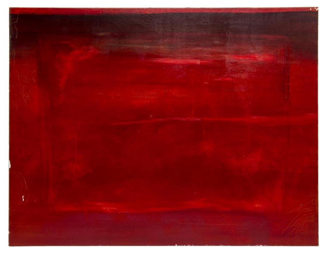 ANDREW ANDERSON (AUSTIN, 20TH C.) ROUGE PAINTING