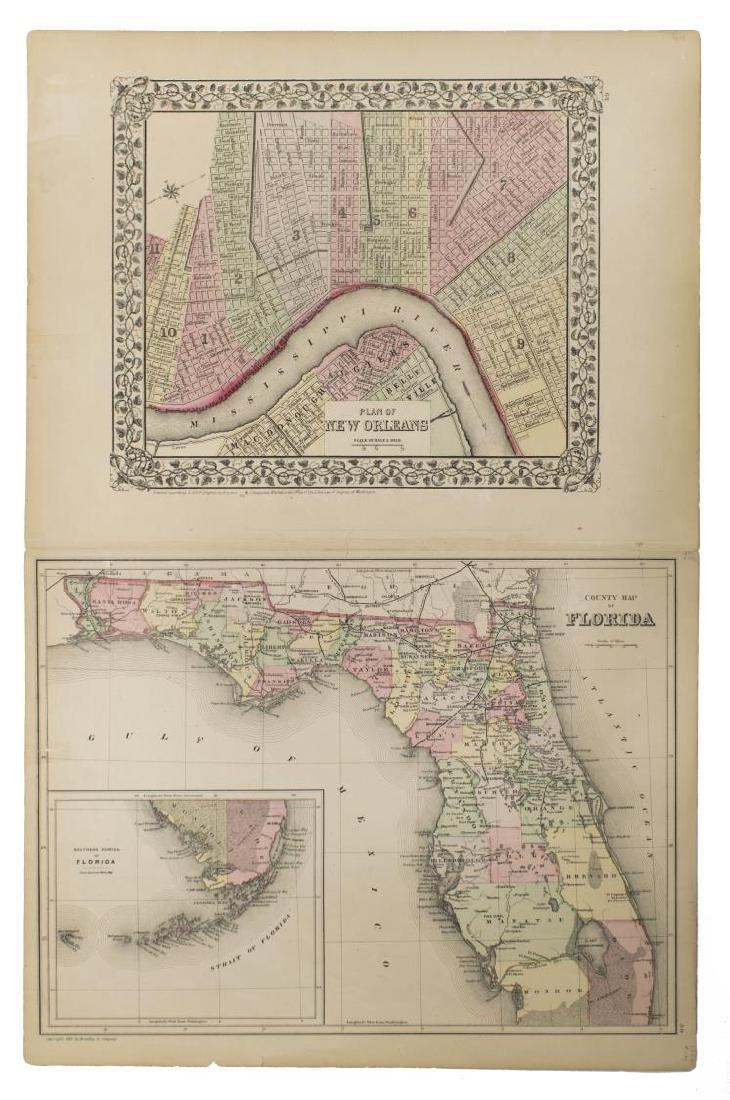 "MAPS, MITCHELL ""PLAN OF NEW ORLEANS"", ARKANSAS"