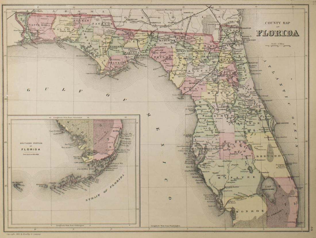 "MAPS, MITCHELL ""PLAN OF NEW ORLEANS"", ARKANSAS - 4"