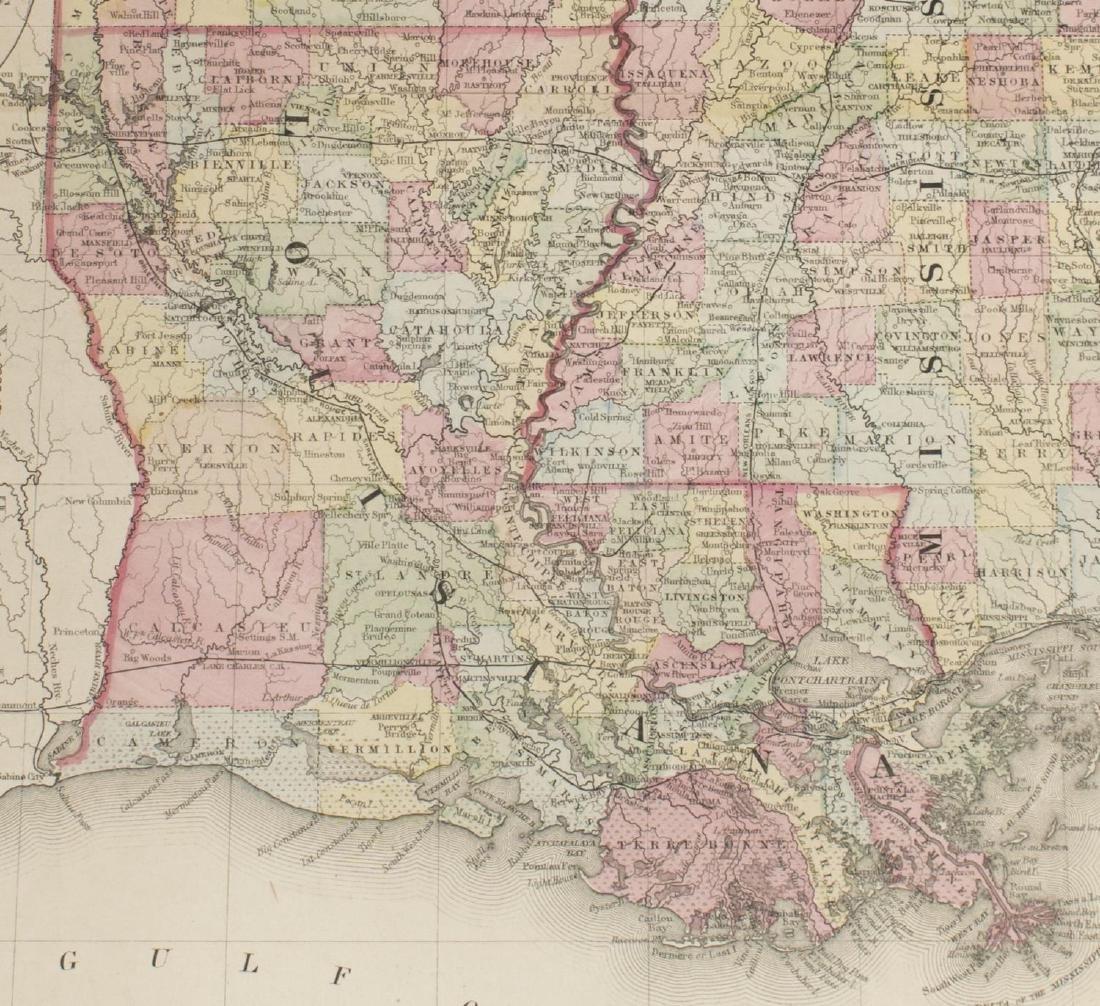 "MAPS, MITCHELL ""PLAN OF NEW ORLEANS"", ARKANSAS - 8"