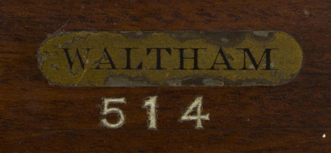 WALTHAM U.S. NAVY MARINE CHRONOMETER, OPERATING - 4