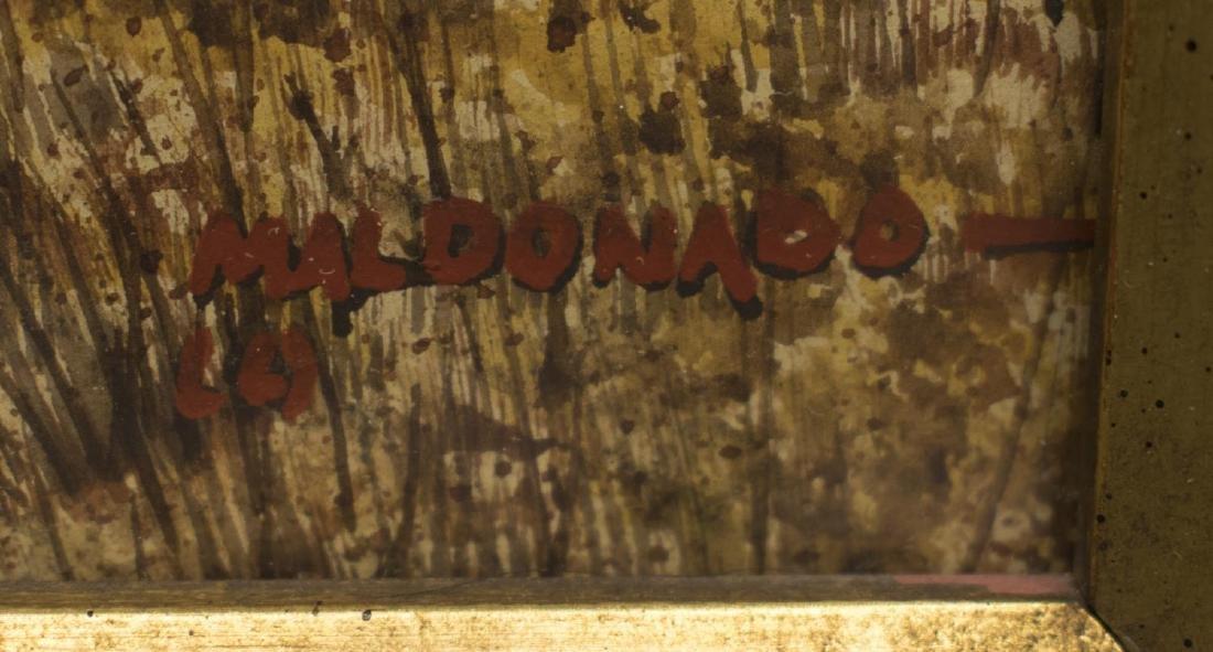 DANIEL MALDONADO (TEXAS) MAGAZINE COVER WATERCOLOR - 3
