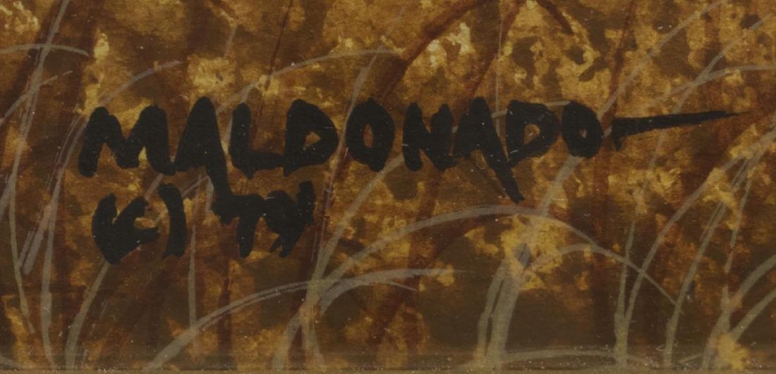 DANIEL MALDONADO (TEXAS) FALL FARMHOUSE LANDSCAPE - 3