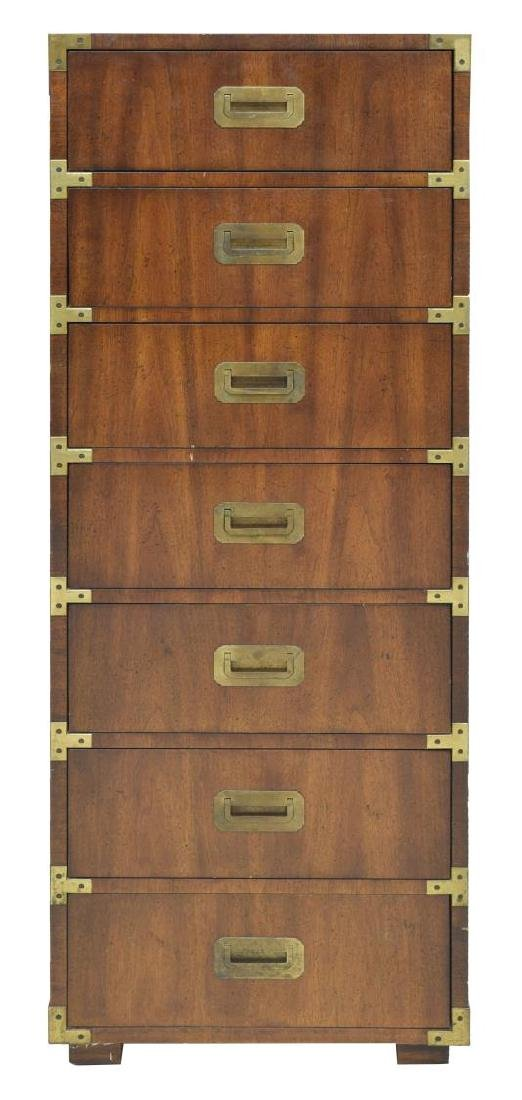 HENREDON CAMPAIGN STYLE LINGERIE CHEST - 2