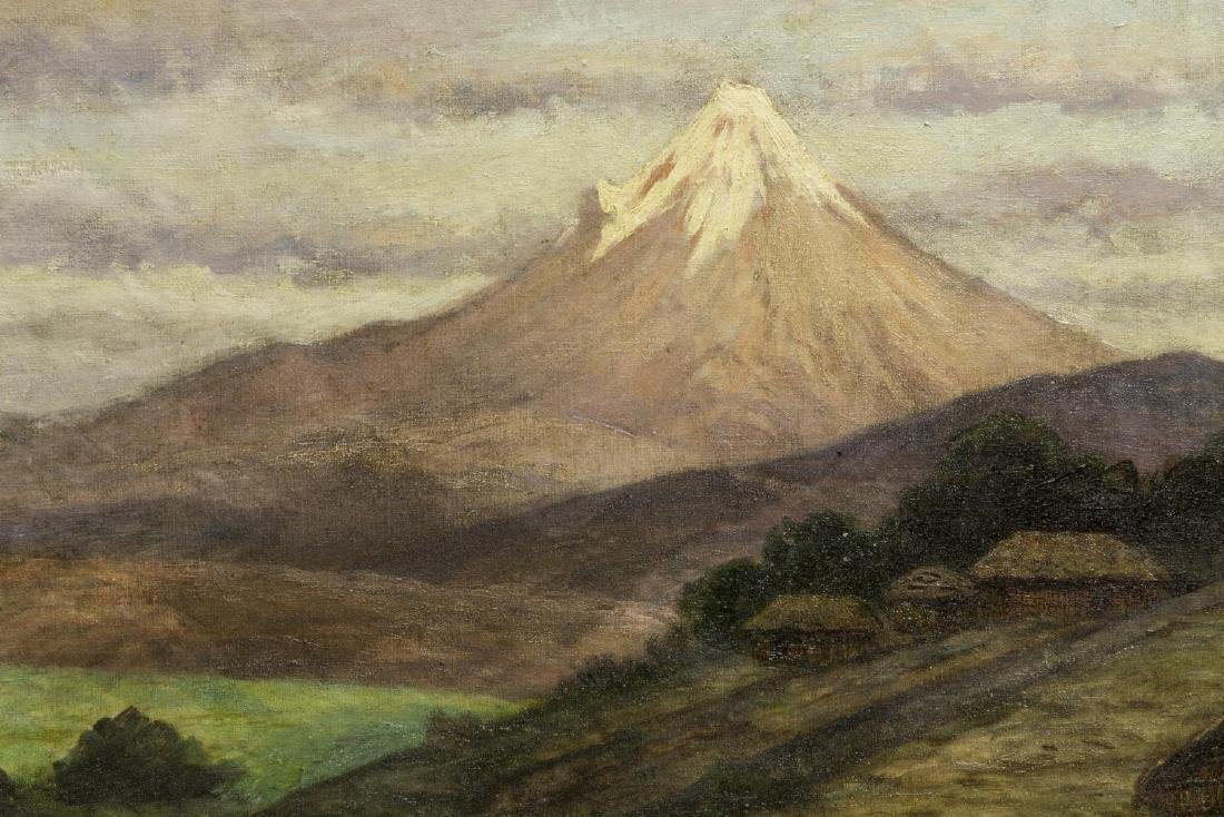 AUGUST LOHR (1842-1920) OIL PAINTING OF MEXICO - 3