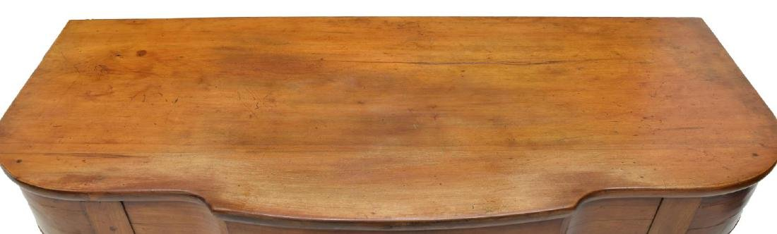 (2) DROP LEAF CHERRYWOOD EXTENSION DINING TABLE - 5