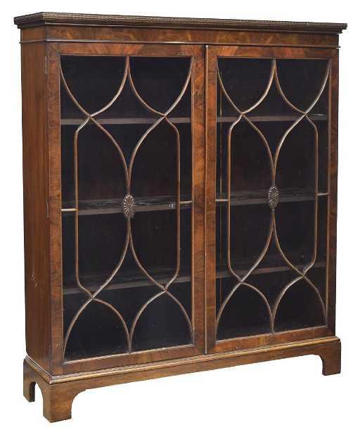 shelf alley barrister front glass com espresso home alton slp ameriwood amazon bookcase