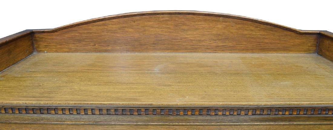 ENGLISH OAK STACKING BARRISTERS BOOKCASE - 4
