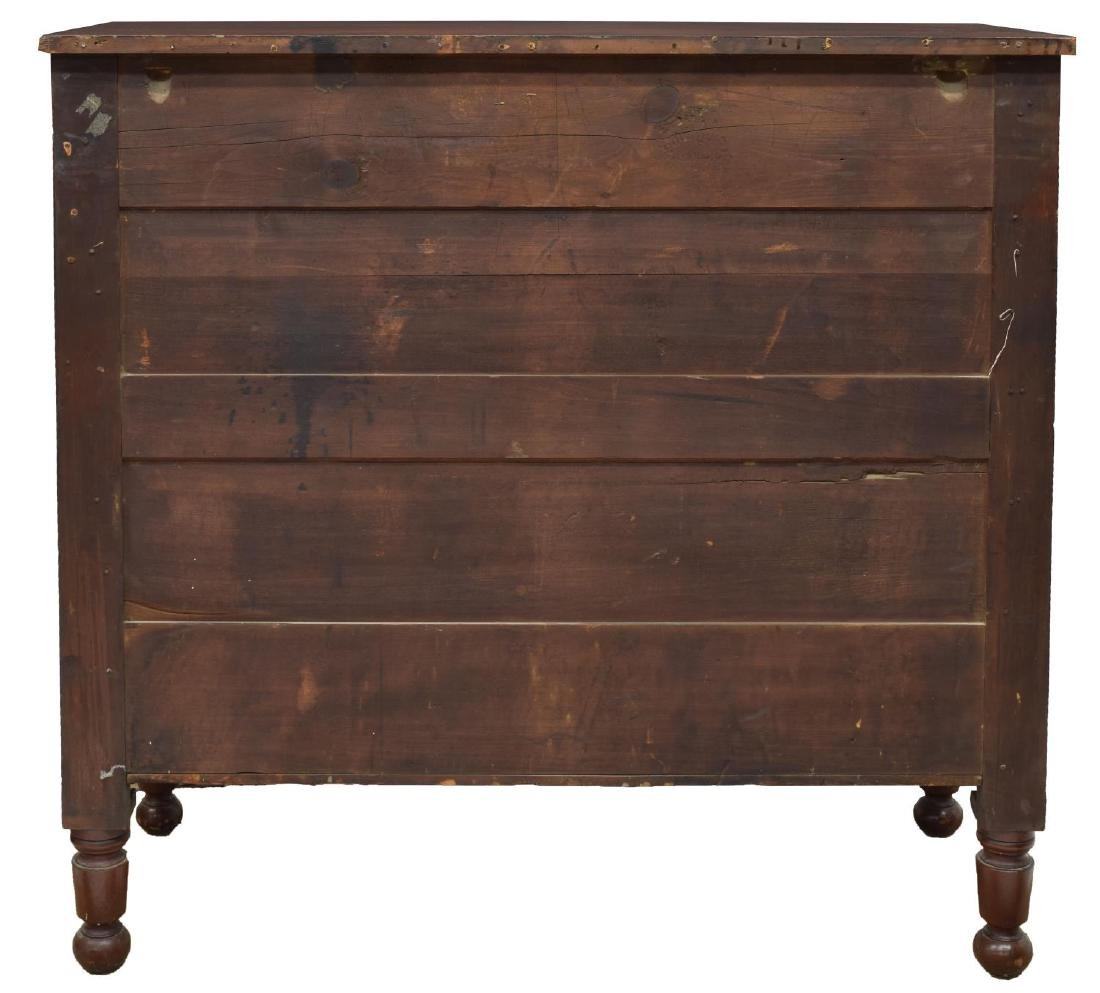 AMERICAN WALNUT CARVED SIDEBOARD, 19TH C. - 4