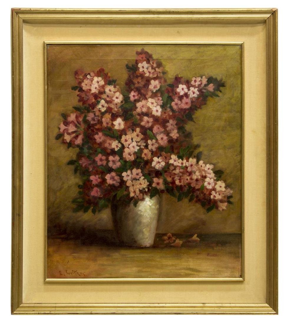 LEANDER LEITNER (1872-1961) FRAMED OIL PAINTING - 2