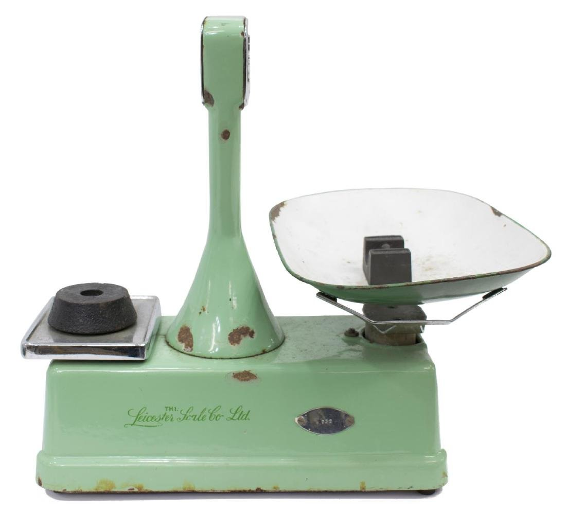 ENGLISH LEICESTER SCALE CO. SHOP COUNTER SCALE - 2
