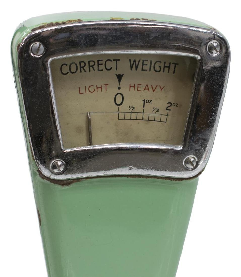 ENGLISH LEICESTER SCALE CO. SHOP COUNTER SCALE - 4