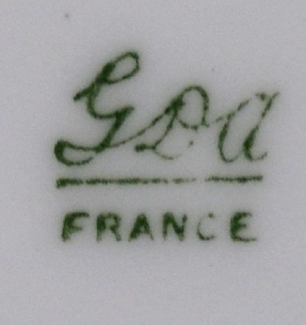 (12) FRENCH HAVILAND LIMOGES SERVICE PLATES - 5