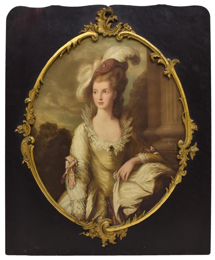FRAMED PRINT AFTER THOMAS GAINSBOROUGH (1727-1788)