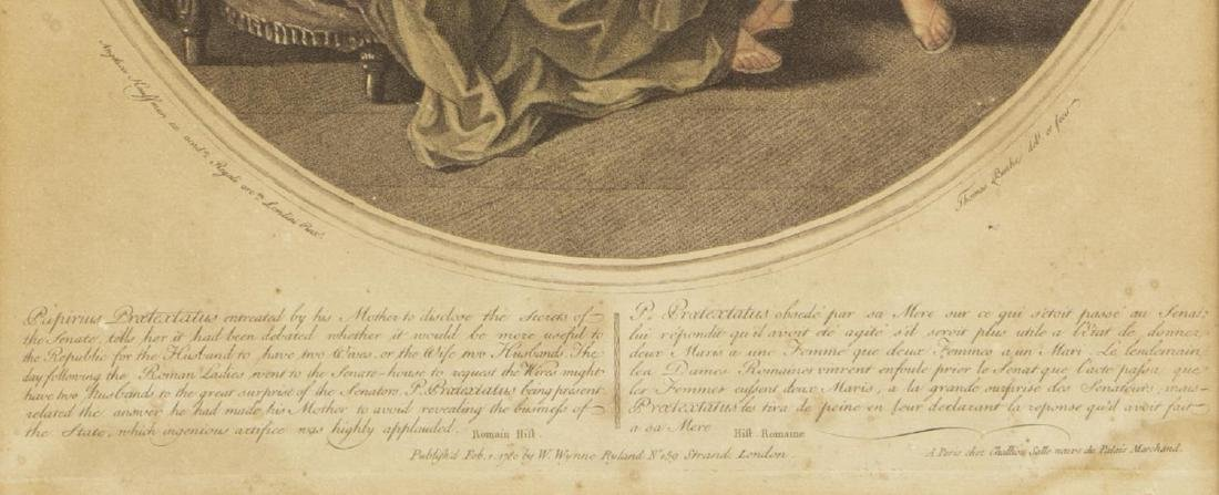 2 ANGELIKA KAUFFMANN(1741-1807) 18th C. MEZZOTINTS - 5