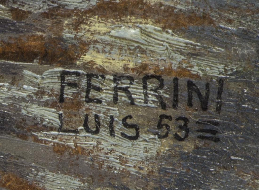 LUIS FERRINI (ARGENTINA, 1898-1954) OIL PAINTING - 4