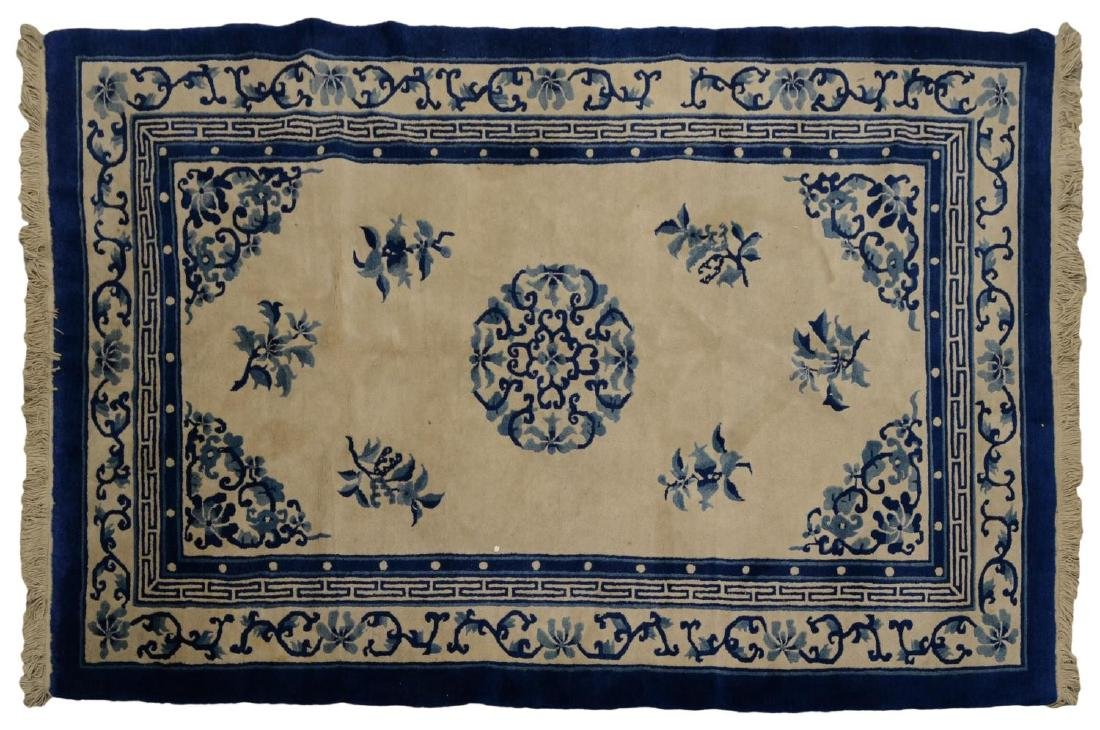 """CHINESE RUG, APPROX. 5'1"""" x 7'11"""""""