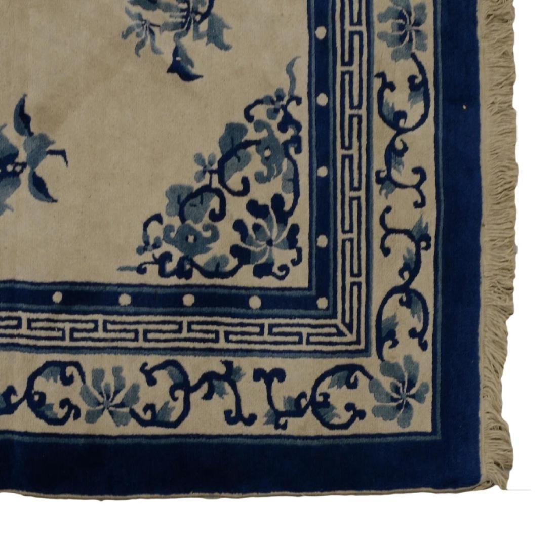 """CHINESE RUG, APPROX. 5'1"""" x 7'11"""" - 3"""