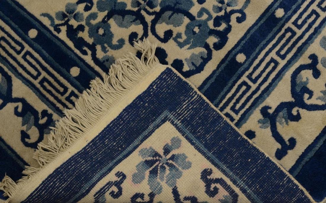 """CHINESE RUG, APPROX. 5'1"""" x 7'11"""" - 4"""