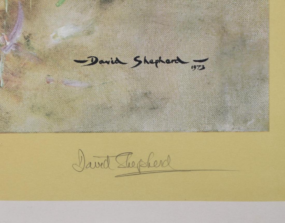 DAVID SHEPHERD (D.2017) SIGNED PRINT 'TIGER FIRE' - 3
