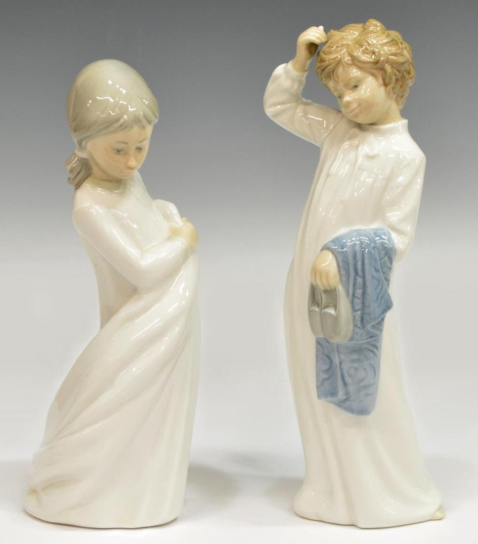 (5) COLLECTION NAO BY LLADRO PORCELAIN FIGURES - 2