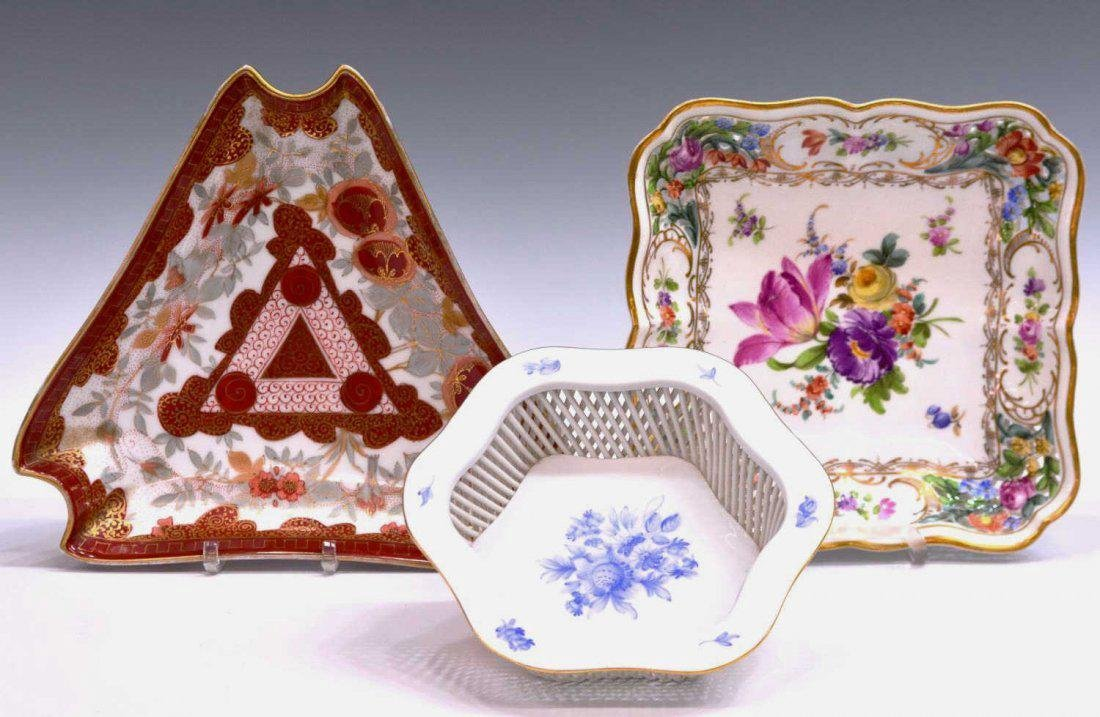 (9) GERMAN, ENGLISH & OTHER PORCELAIN TABLEWARE - 2