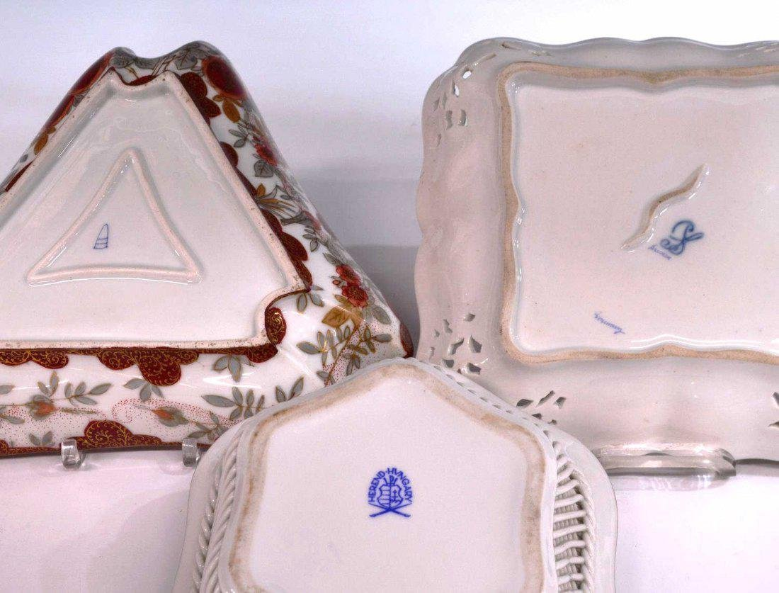 (9) GERMAN, ENGLISH & OTHER PORCELAIN TABLEWARE - 3
