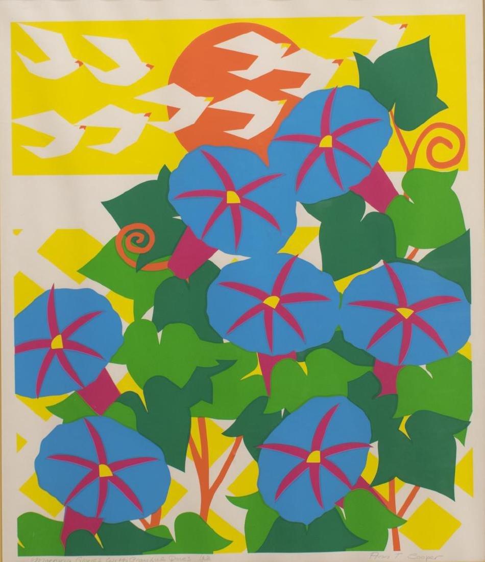 ANN TRENCHARD COOPER (1935-2005) FRAMED SERIGRAPH