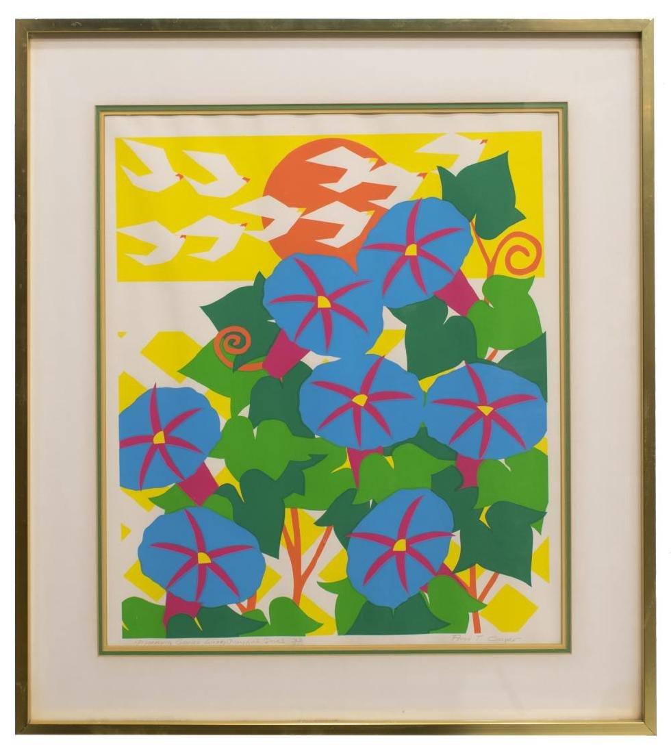 ANN TRENCHARD COOPER (1935-2005) FRAMED SERIGRAPH - 2