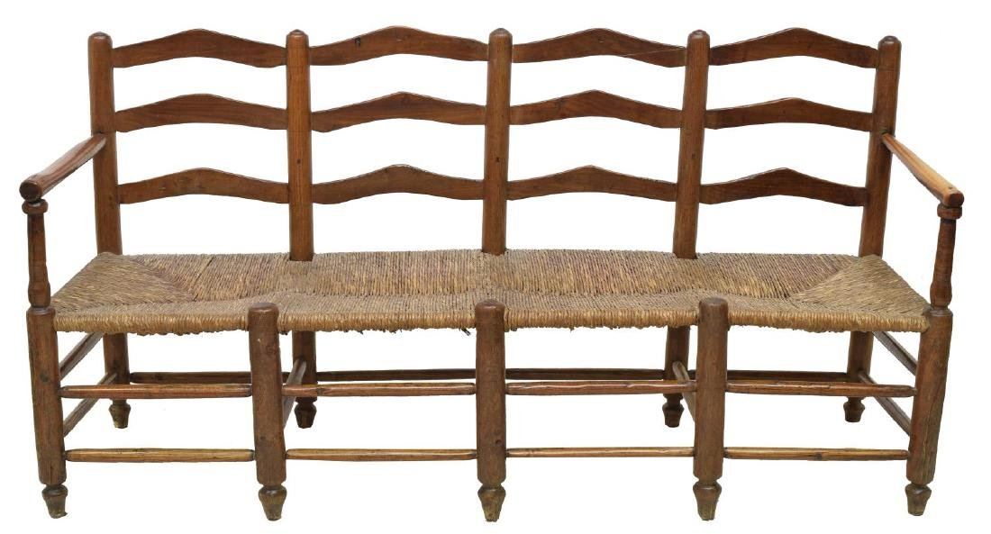FRENCH FOUR SEAT BENCH - 2