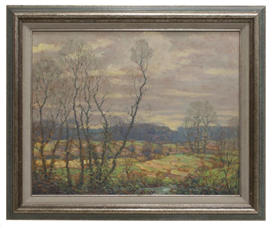 BENSON BOND MOORE (1882-1974) FRAMED OIL PAINTING - 2