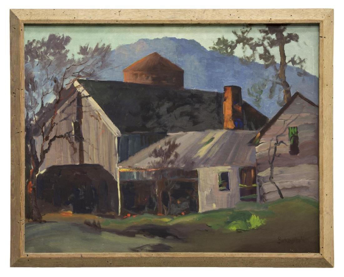 GEORGE S. BICKERSTAFF (CA, 1893-1954) OIL PAINTING - 2
