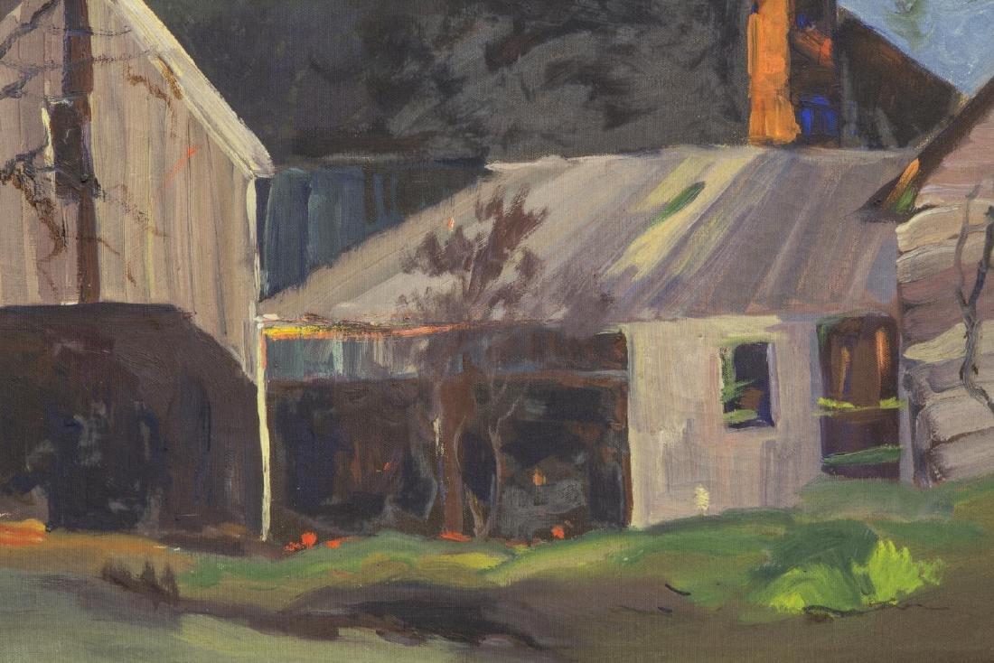 GEORGE S. BICKERSTAFF (CA, 1893-1954) OIL PAINTING - 3