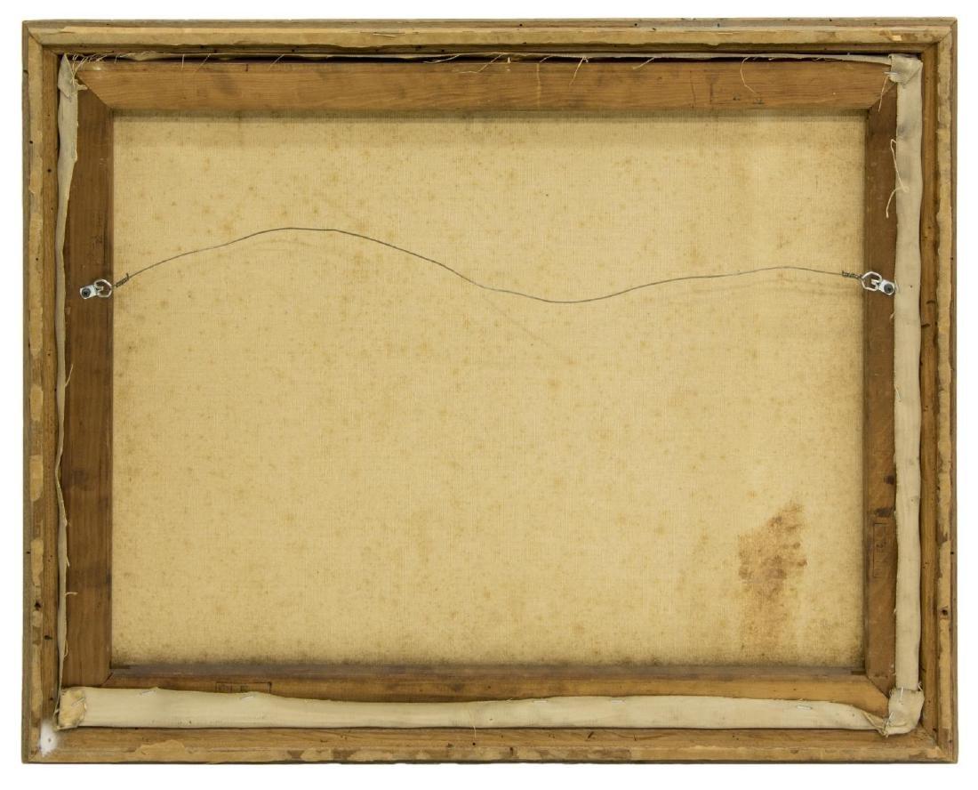 GEORGE S. BICKERSTAFF (CA, 1893-1954) OIL PAINTING - 5