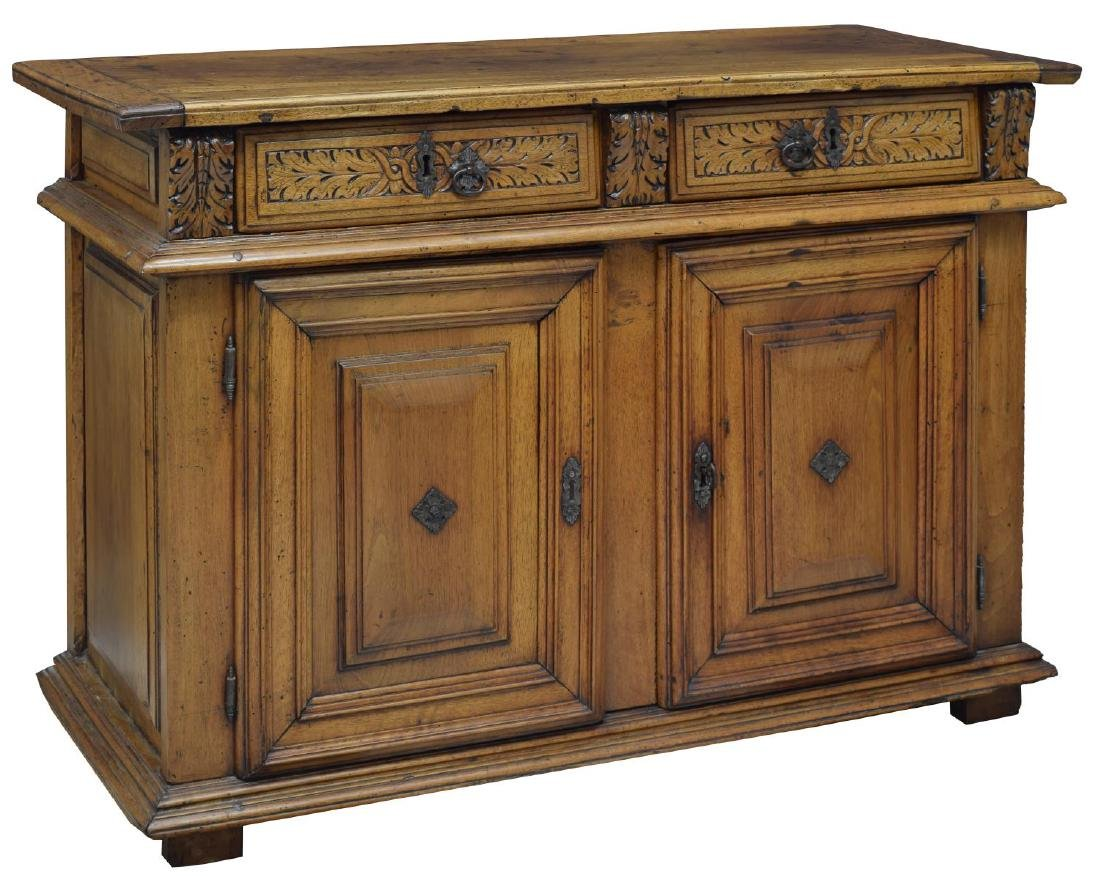FRENCH WALNUT 18TH C, SIDEBOARD