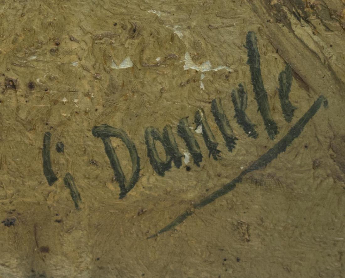 GIUSEPPE DANIELI (ATTRIB.) FRAMED OIL PAINTING - 3