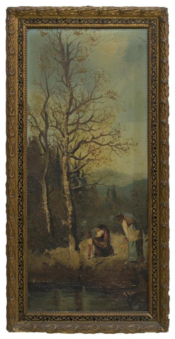 GIUSEPPE DANIELI (ATTRIB.) FRAMED OIL PAINTING - 2