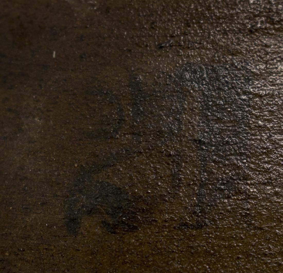 "LARGE ITALIAN TERRACOTTA CERAMIC OLIVE JAR, 19.5""H - 3"