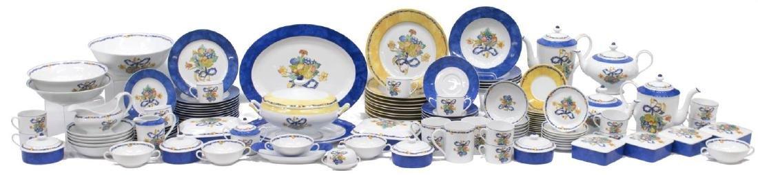 (122) BERNARDAUD LIMOGES 'BORGHESE' DINNER SERVICE