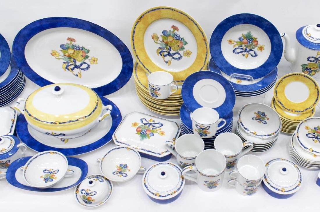 (122) BERNARDAUD LIMOGES 'BORGHESE' DINNER SERVICE - 4